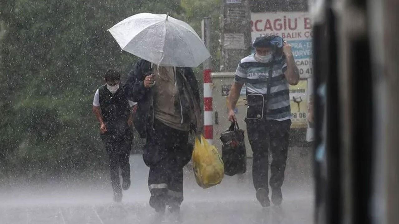 Dikkat! Şemsiyesiz çıkmayın!