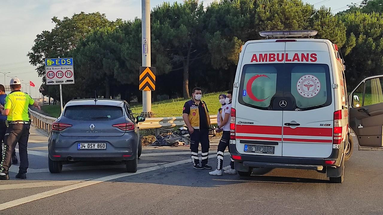 Sokağa çıkma kısıtlamasında feci kaza; 1 ölü