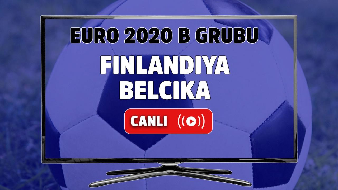 Finlandiya - Belçika Canlı maç izle