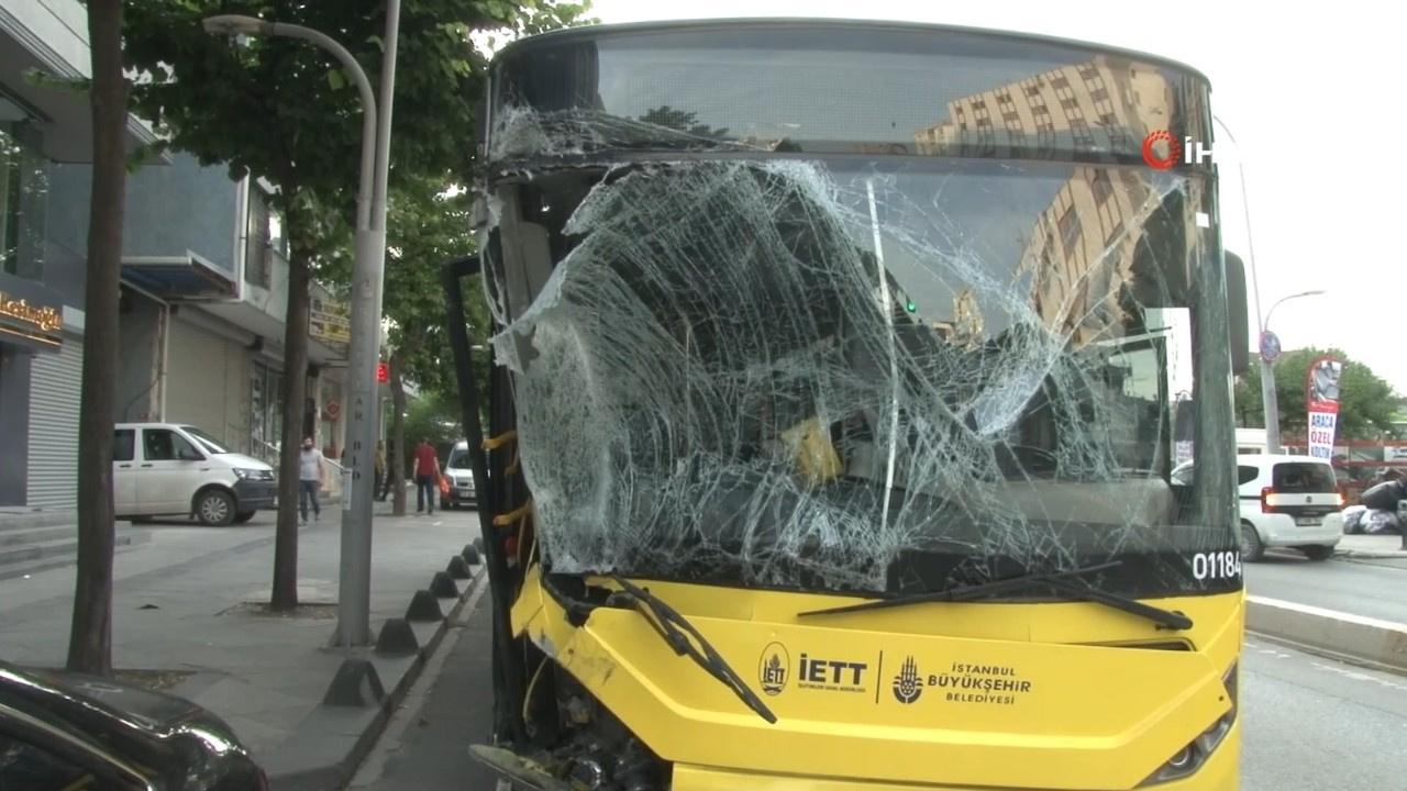 Belediye otobüsü dehşeti: 4 kişi yaralandı