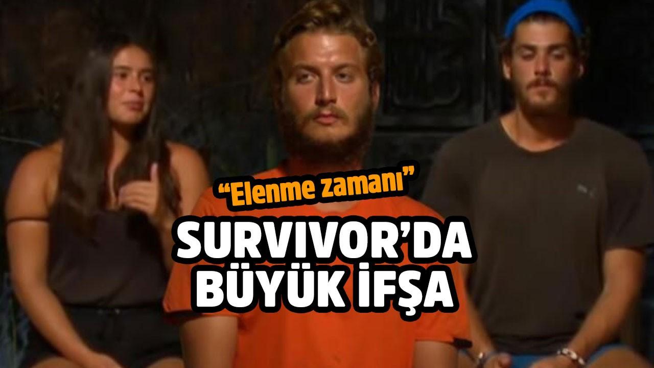Survivor'da ortalık karıştı! Adaya veda edecek isim açıklandı
