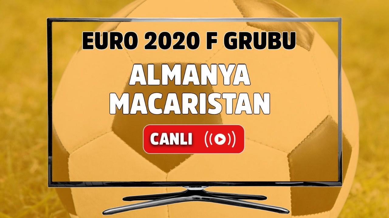 Almanya - Macaristan Canlı maç izle