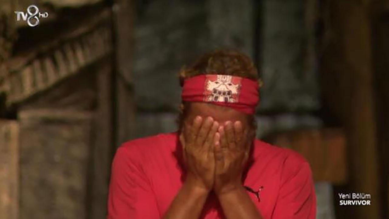 Gözyaşlarıyla Survivor 2021'e veda etti!