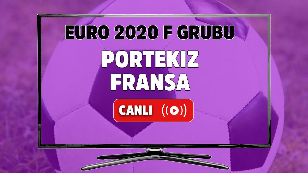 Portekiz - Fransa Canlı maç izle