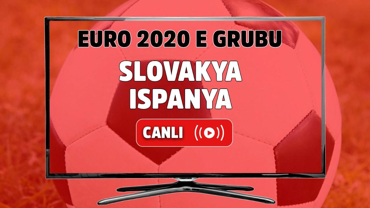 Slovakya - İspanya Canlı maç izle