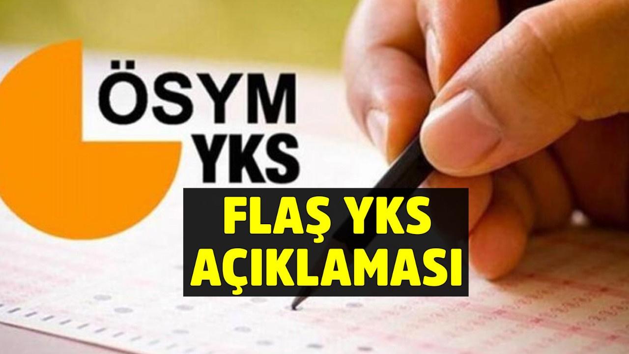ÖSYM Başkanı Aygün'den son dakika YKS açıklaması!