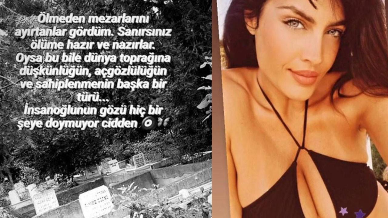 Tuğba Ekinci'den bikinili mezar isyanı