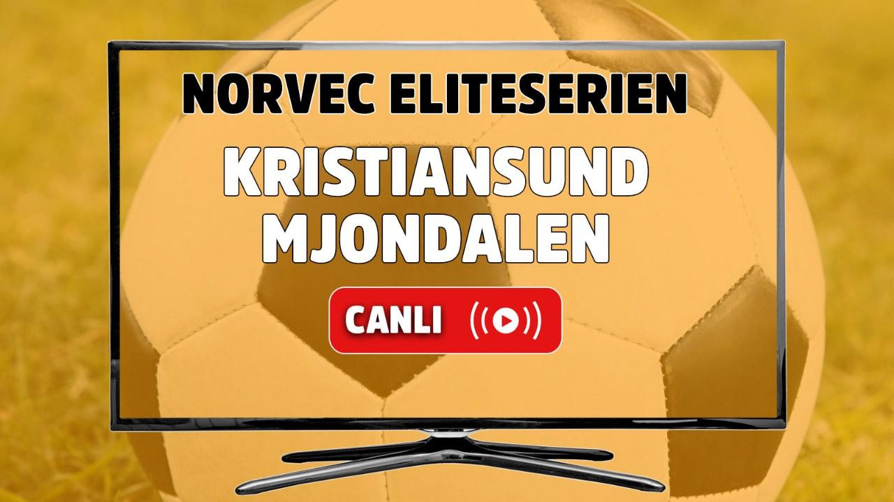 Kristiansund - Mjondalen Canlı maç izle