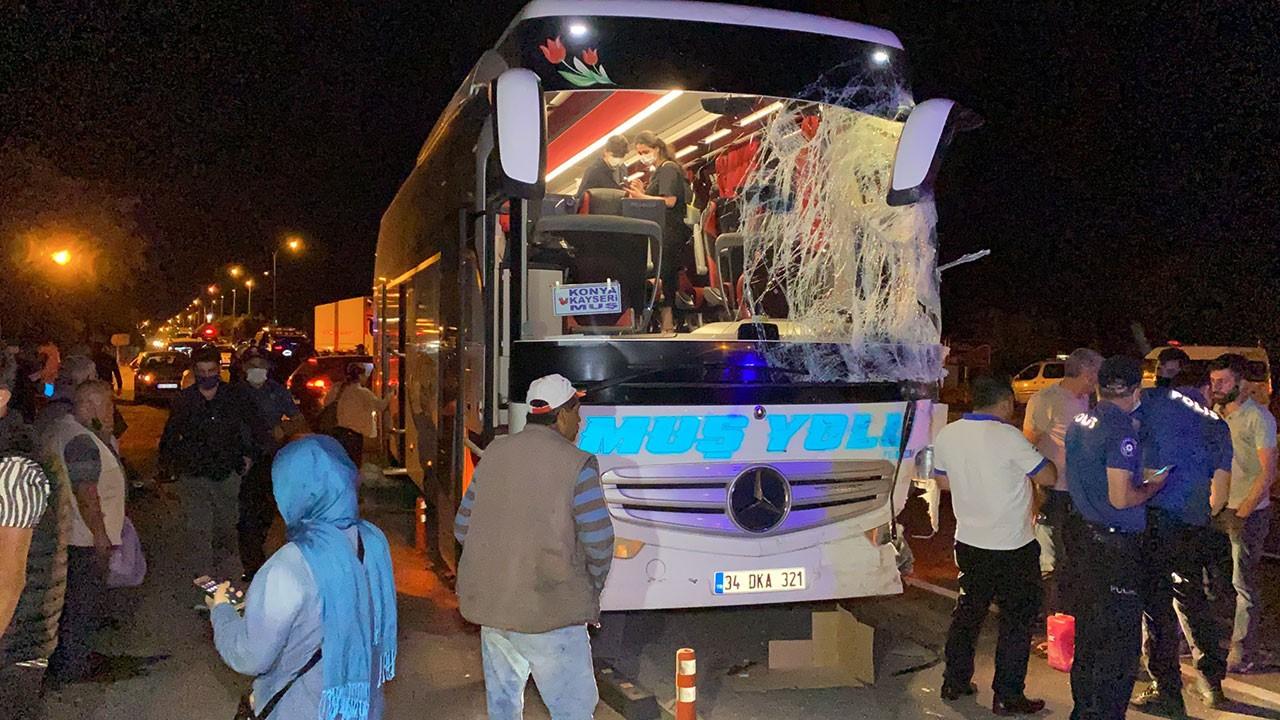 Aksaray'da feci kaza! Birçok yaralı var!