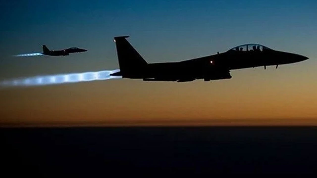 ABD'den Suriye ve Irak'ta hava saldırısı