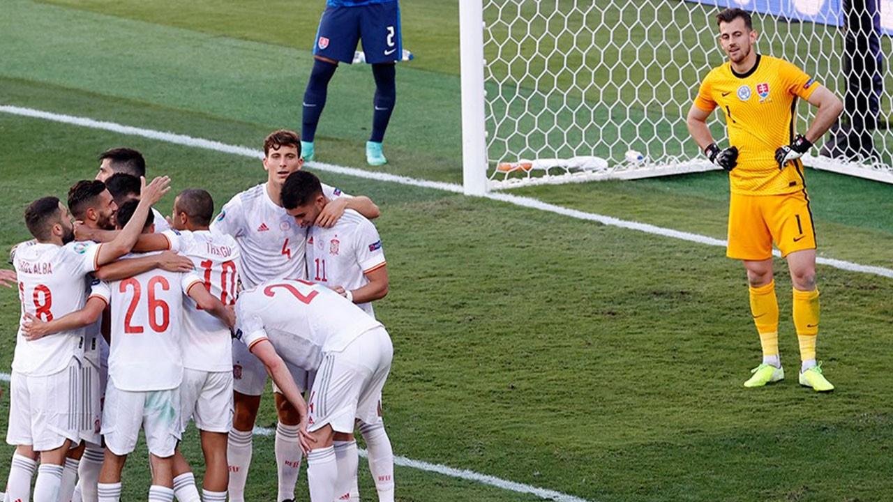 Slovakya 0 İspanya 5
