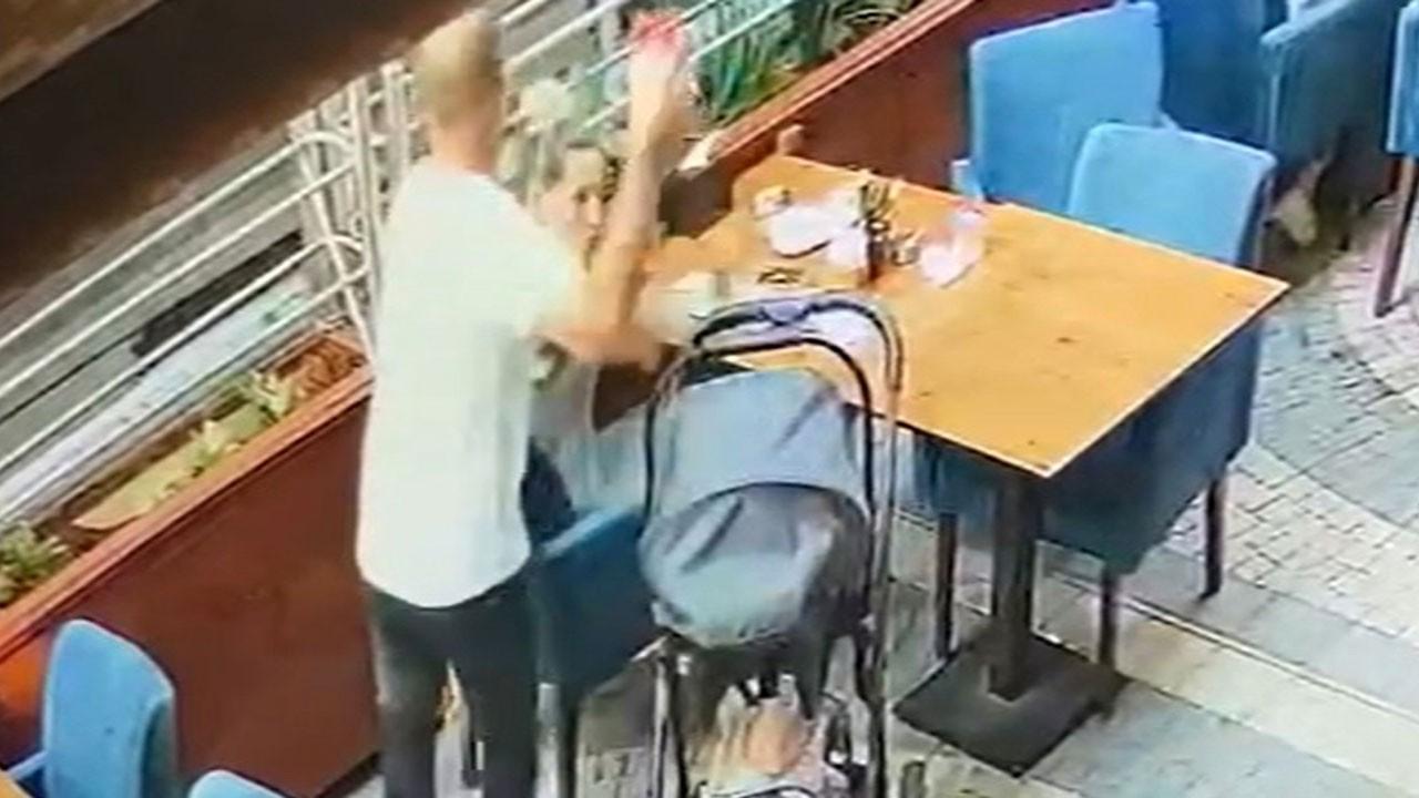 Bardakla saldırdı, defalarca bıçakladı!