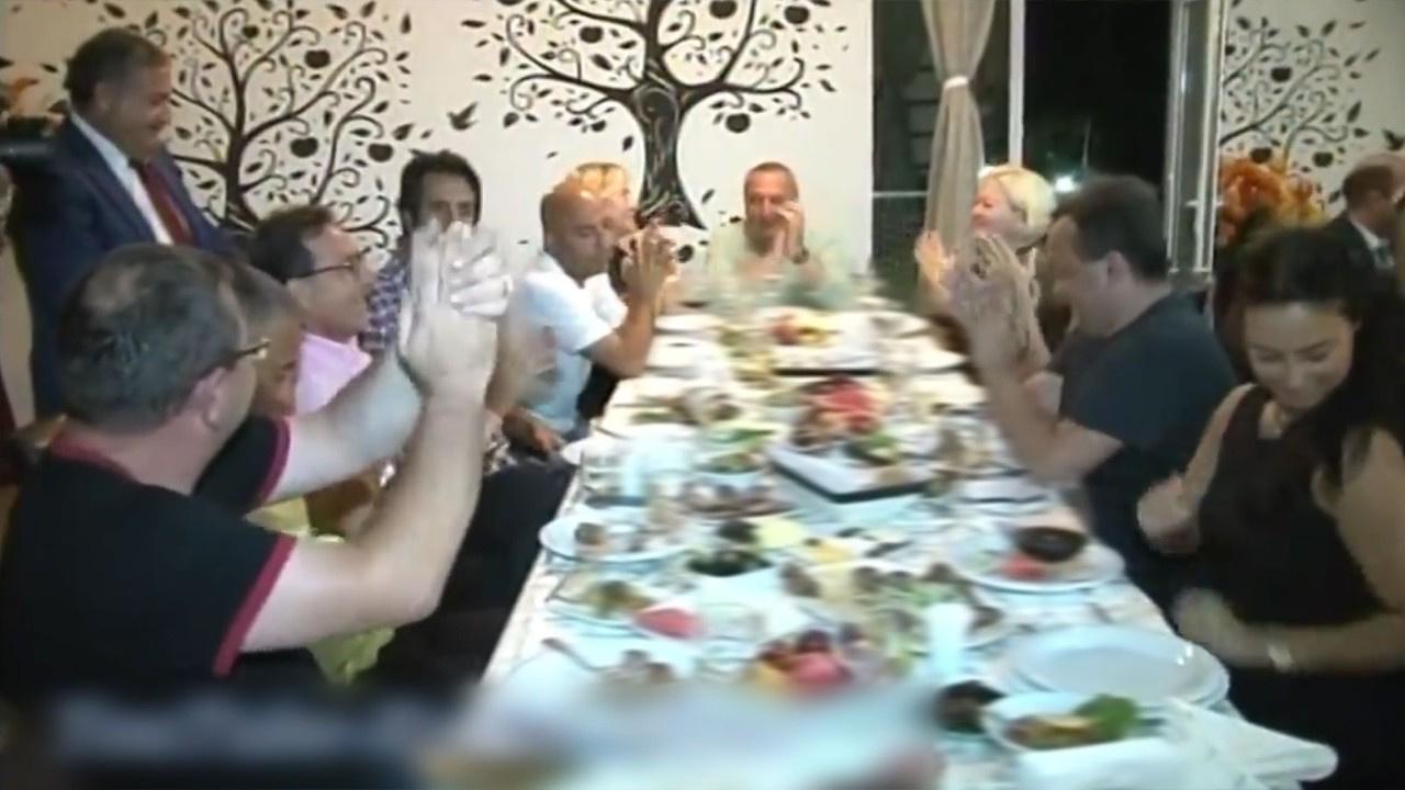 Ünlüler Mansimov'un doğum gününde