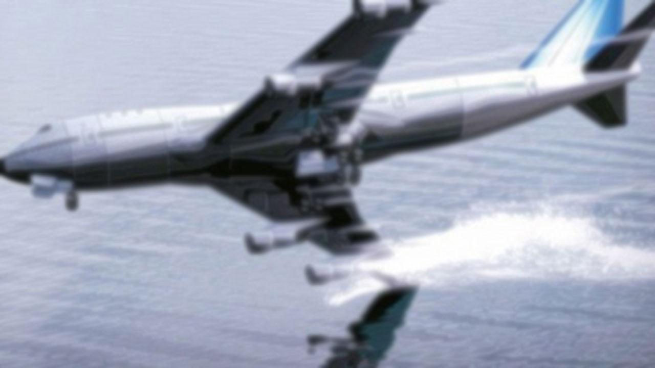 ABD'de kargo uçağı denize düştü