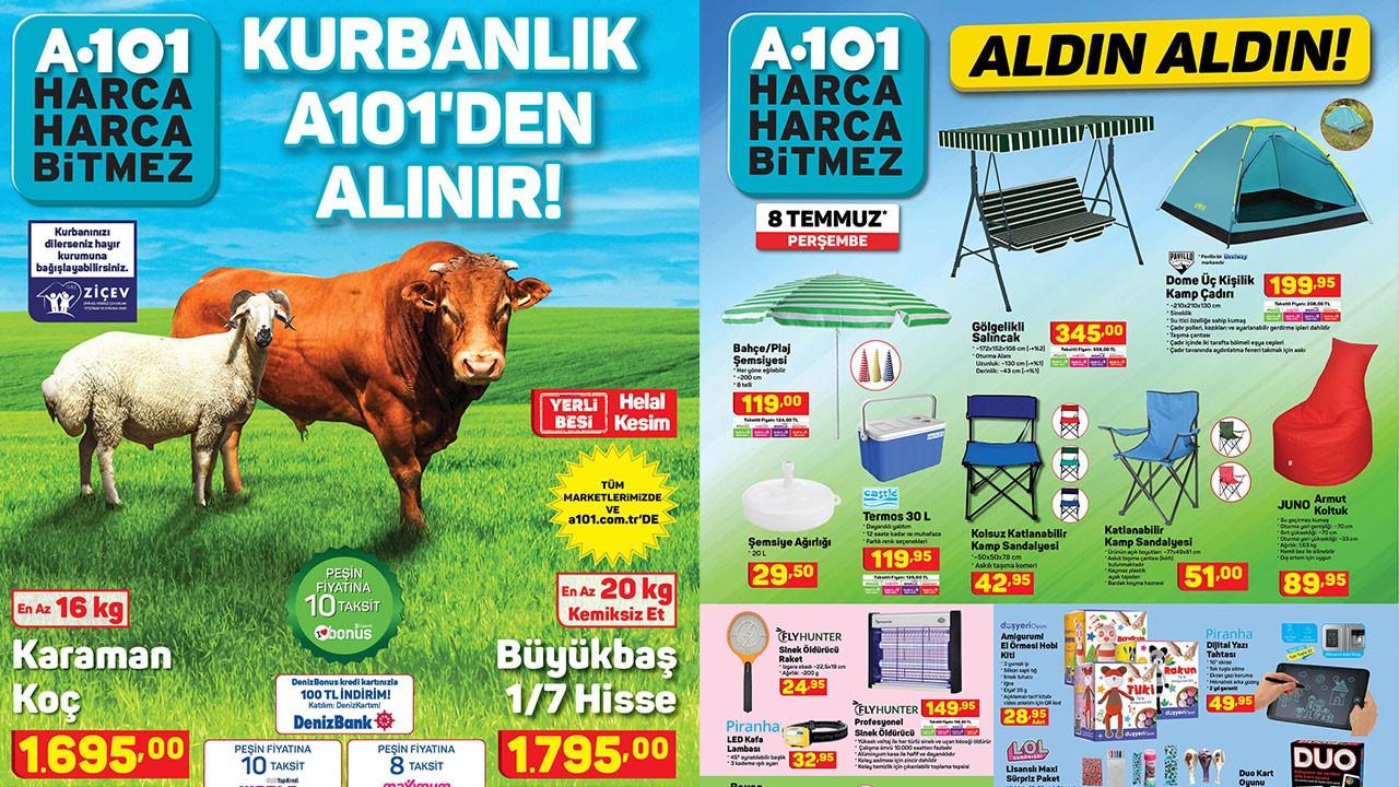 A101 9 Temmuz 2021 Aktüel ürünler kataloğu!