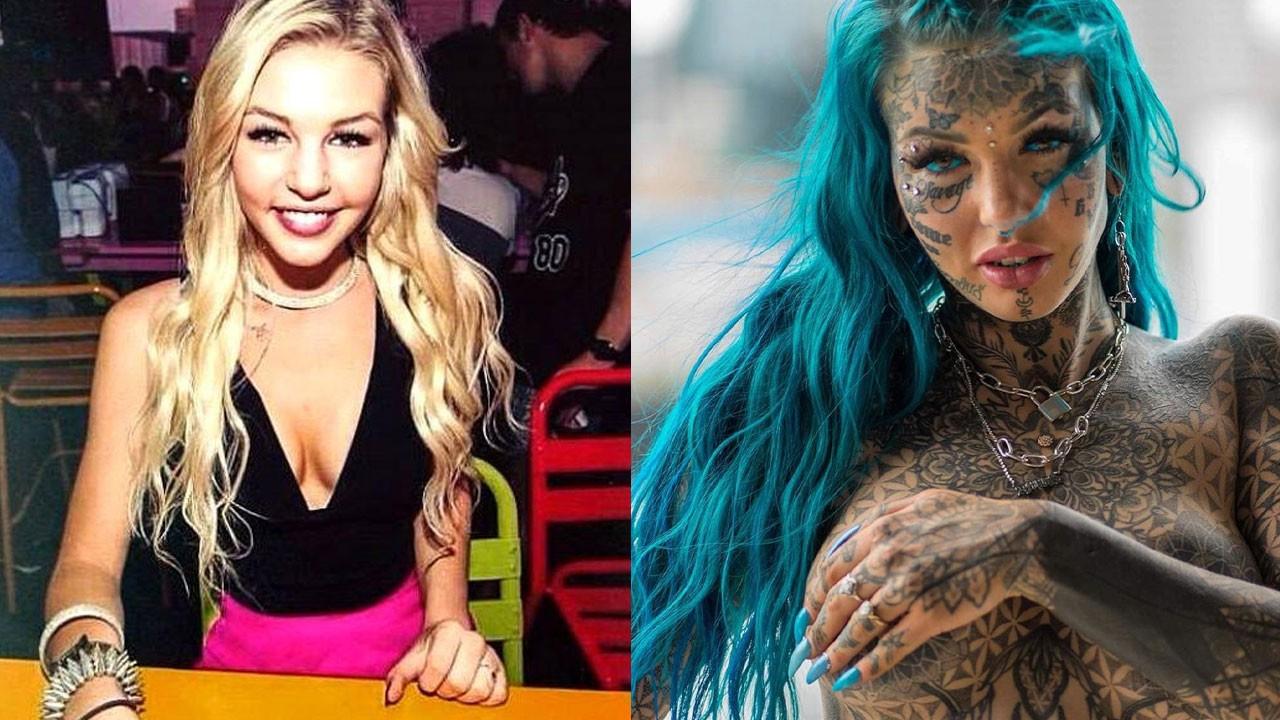 Vücudunda dövme yaptıracak yeri kalmadı!