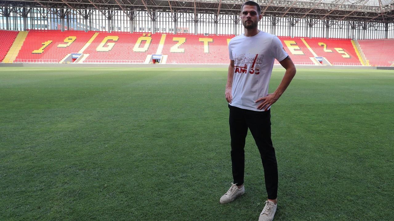 Göztepe Dino Arslanagic'i transfer etti