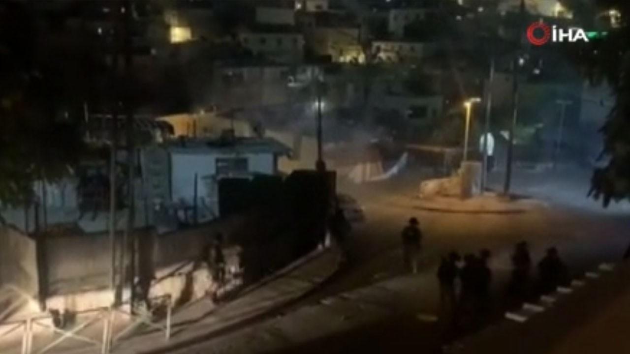 İsrail güçleri Filistinlilere saldırdı