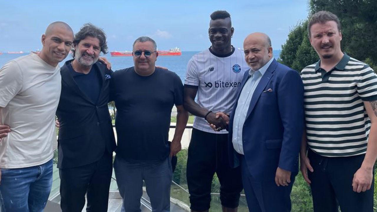 Balotelli resmen Adana Demirspor'da