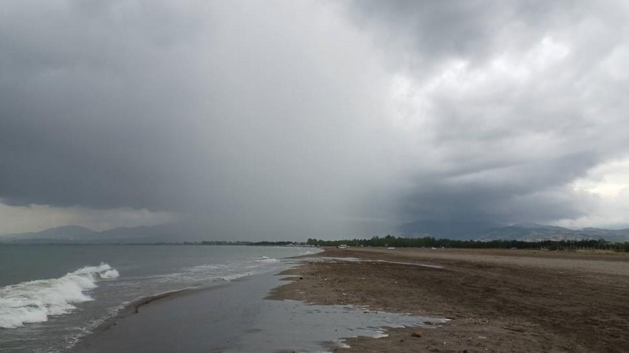 Karadeniz'de lokal  yağışlar başladı!