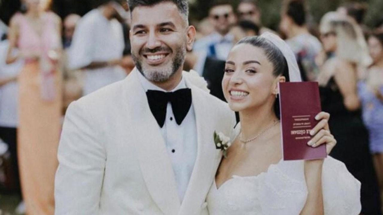 Zeynep Bastık Tolga Akış ile evlendi