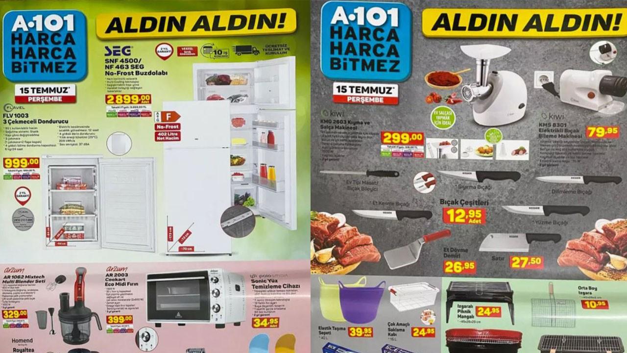 A101 17 Temmuz 2021 Aktüel ürünler kataloğu! A101'de bu hafta neler var? A101 indirimli ürünler listesi