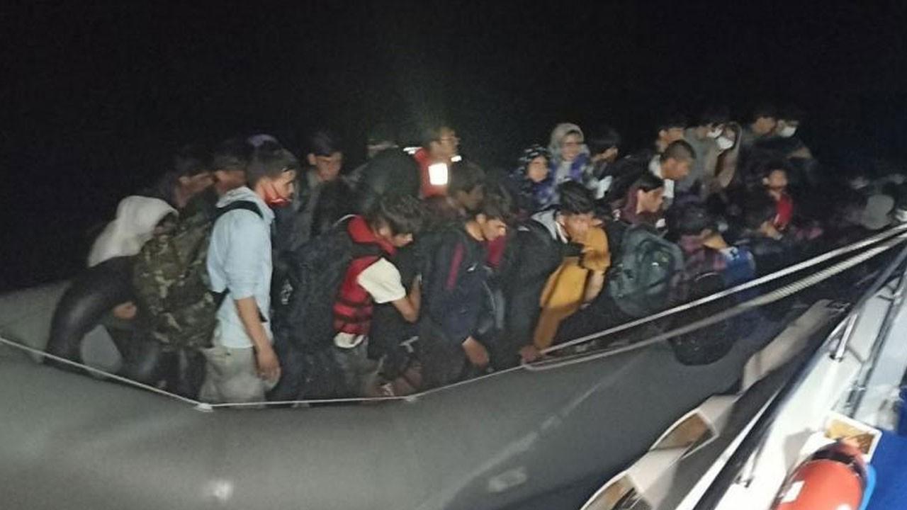 43 göçmen ölüme terk edildi!