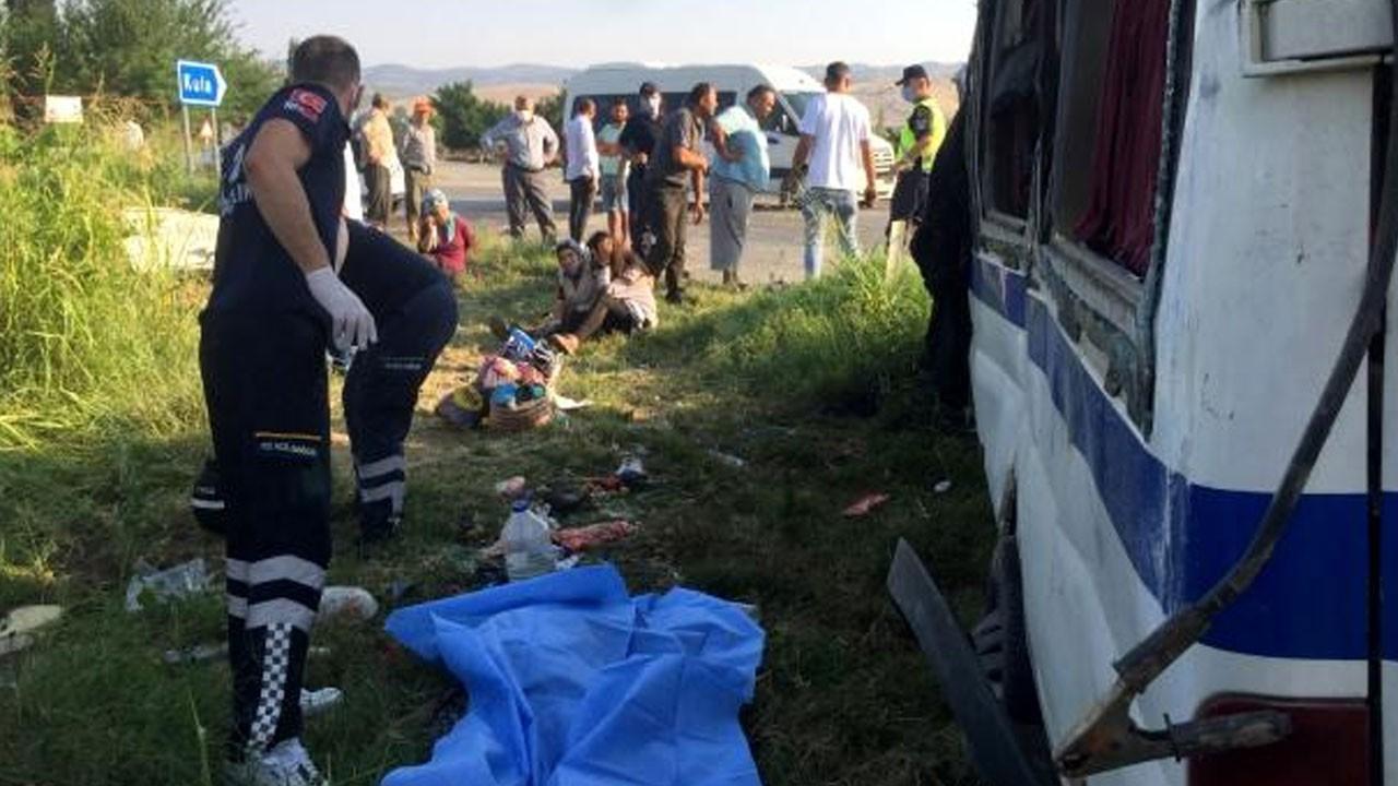 Feci kaza: 2 ölü, 9 yaralı