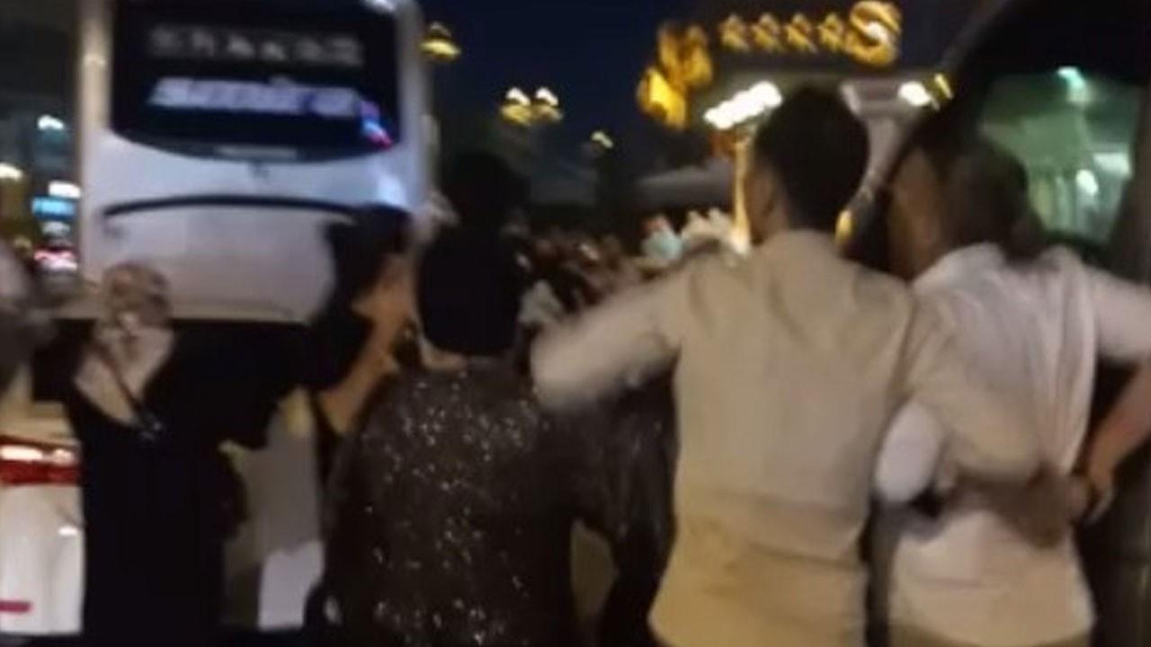 Baldıza taciz iddiası düğünü birbirine kattı