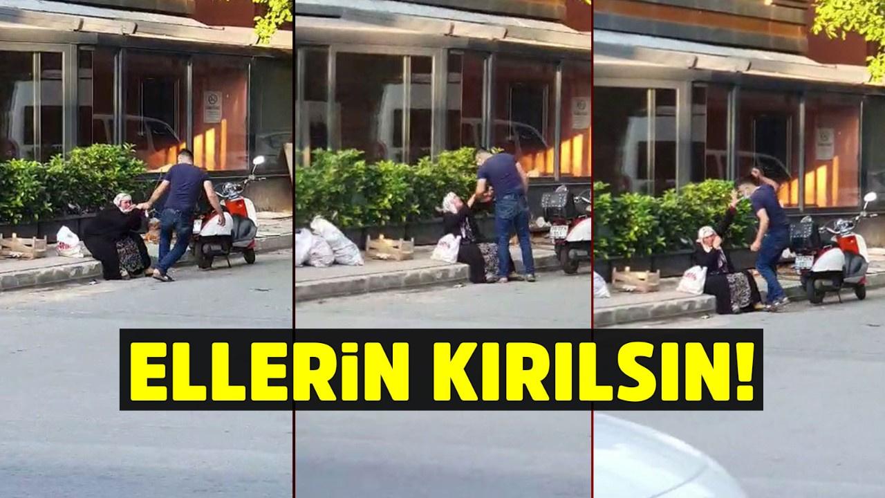 Silahlı şahıs annesini sokak ortasında darp etti