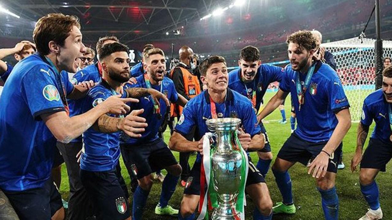 İtalya Avrupa şampiyonu oldu!