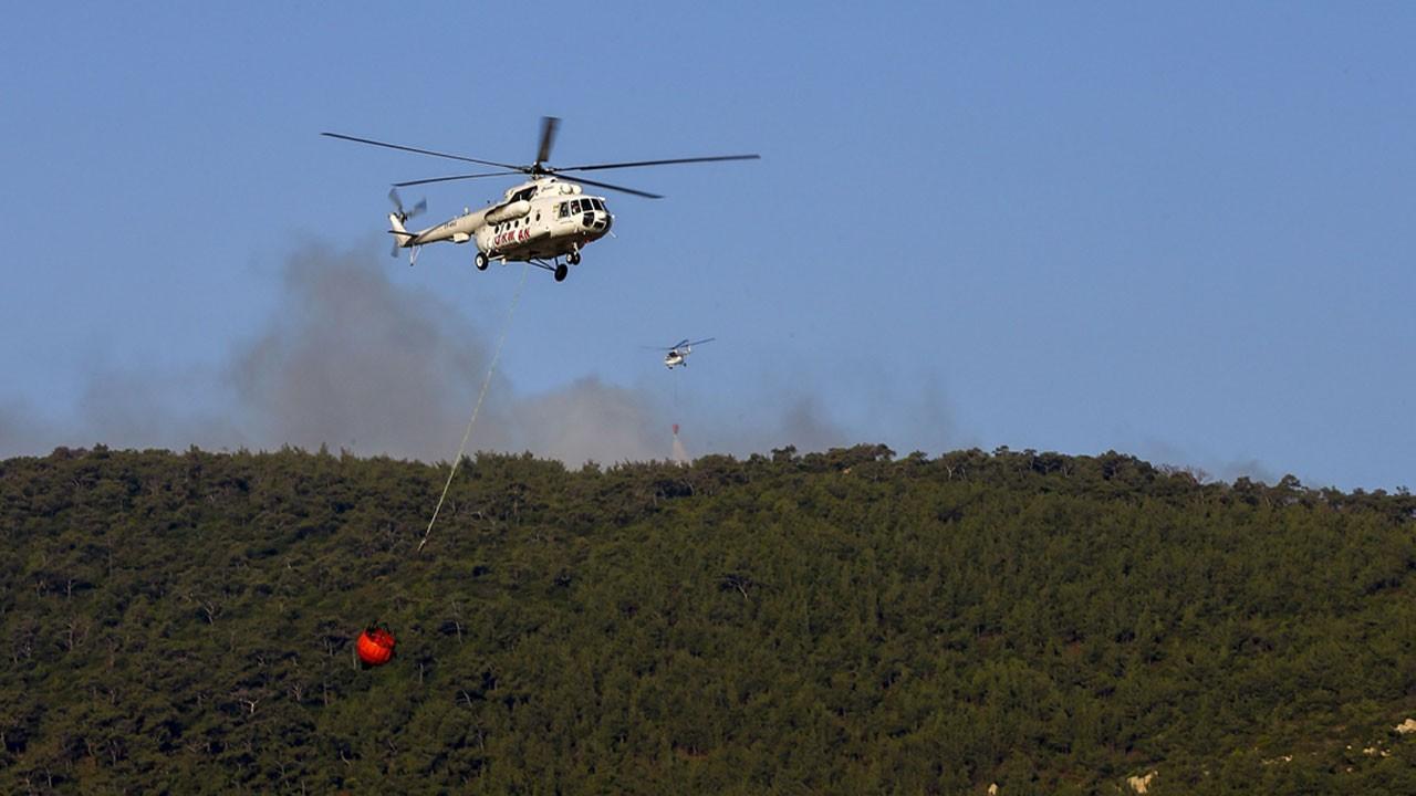 İzmir'de orman yangını! Müdahale ediliyor