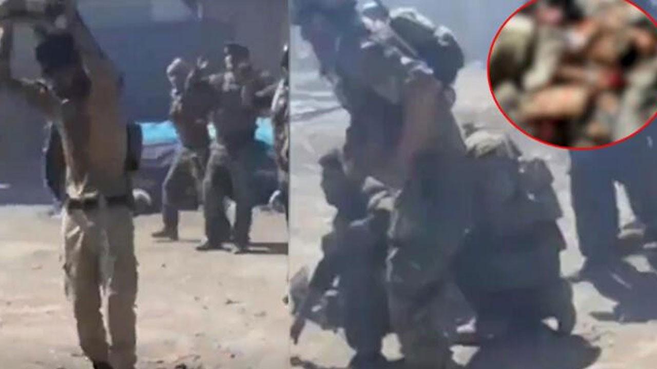 Kan donduran çığlıklar! 22 askeri infaz ettiler
