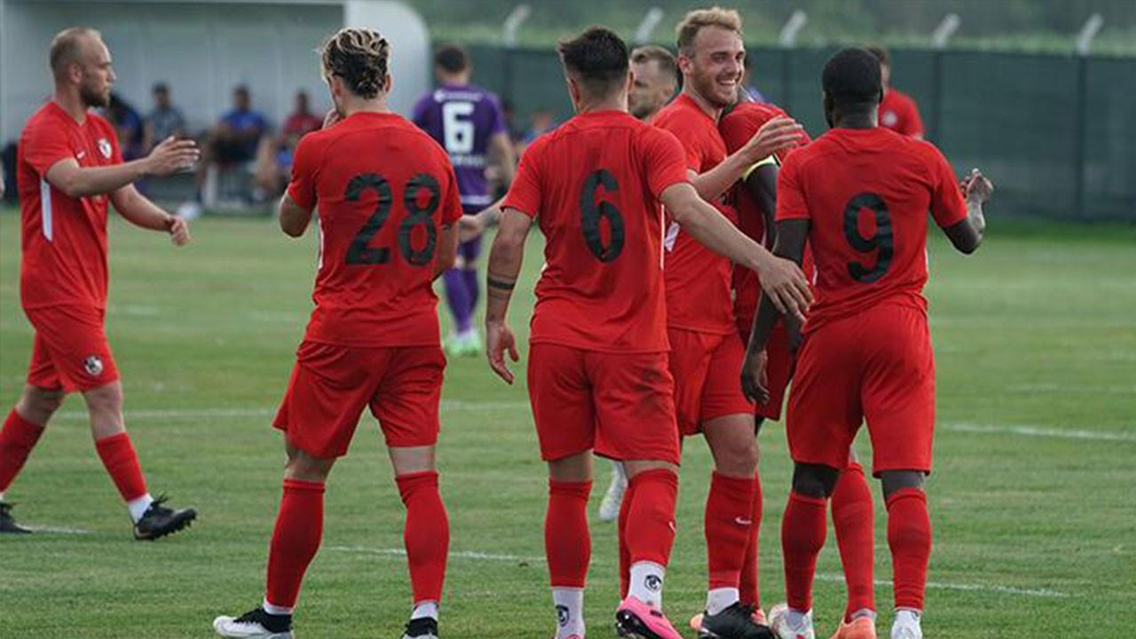 Gaziantep FK 2 - 1 Sumgayıt (Hazırlık maçı)
