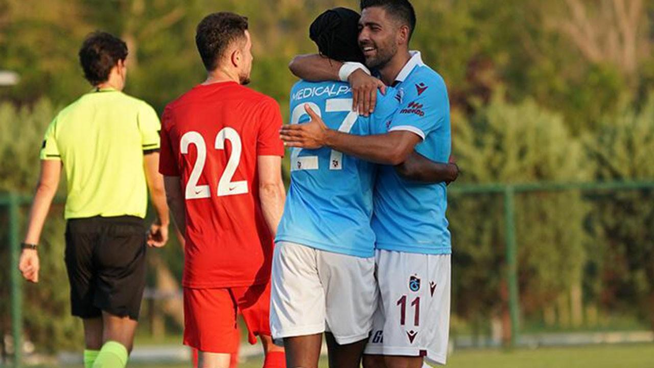 Trabzonspor 5 - 3 Ümraniyespor (Hazırlık maçı)