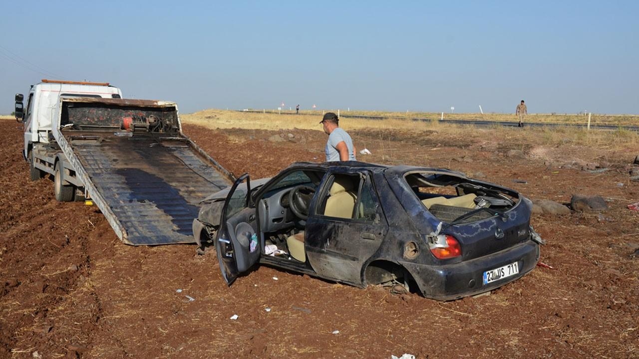Siverek'te feci kaza: 2 kişi hayatını kaybetti