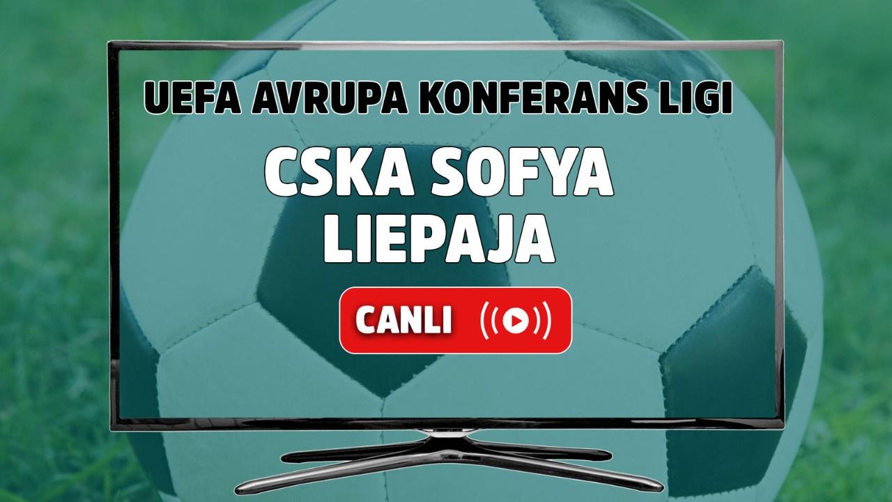 CSKA Sofya - Liepaja Canlı