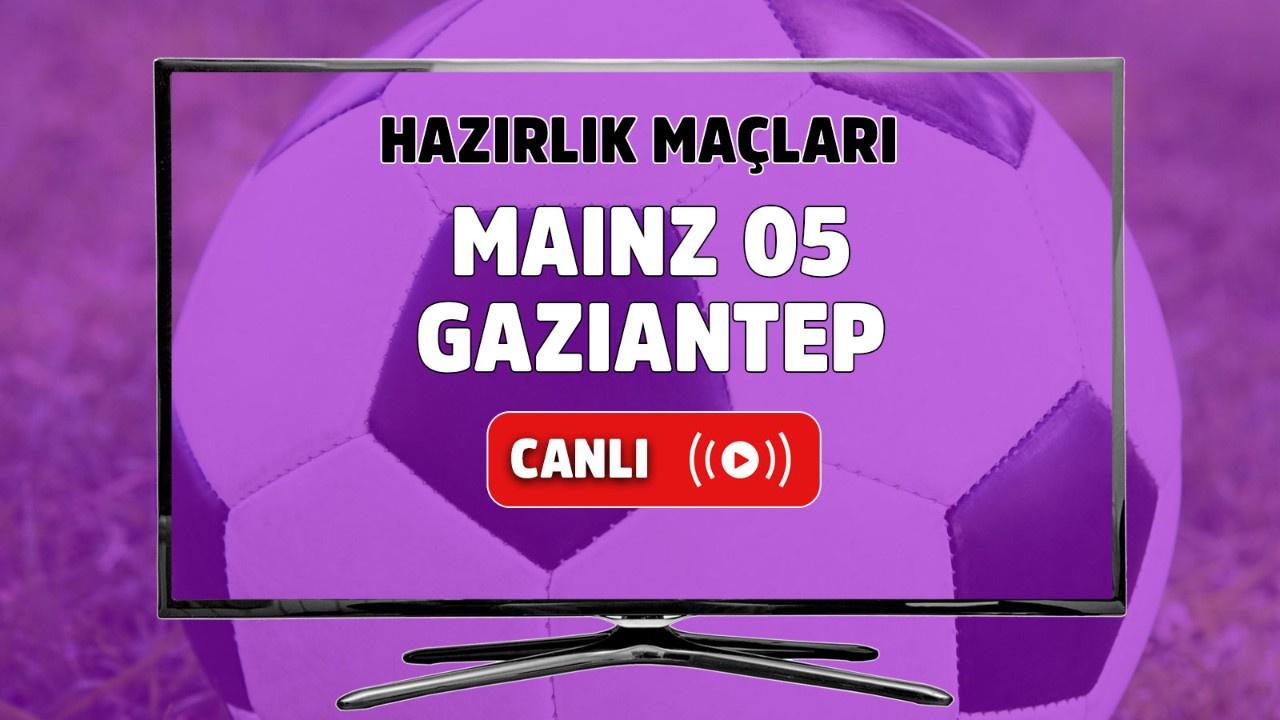 Mainz 05 - Gaziantep Canlı