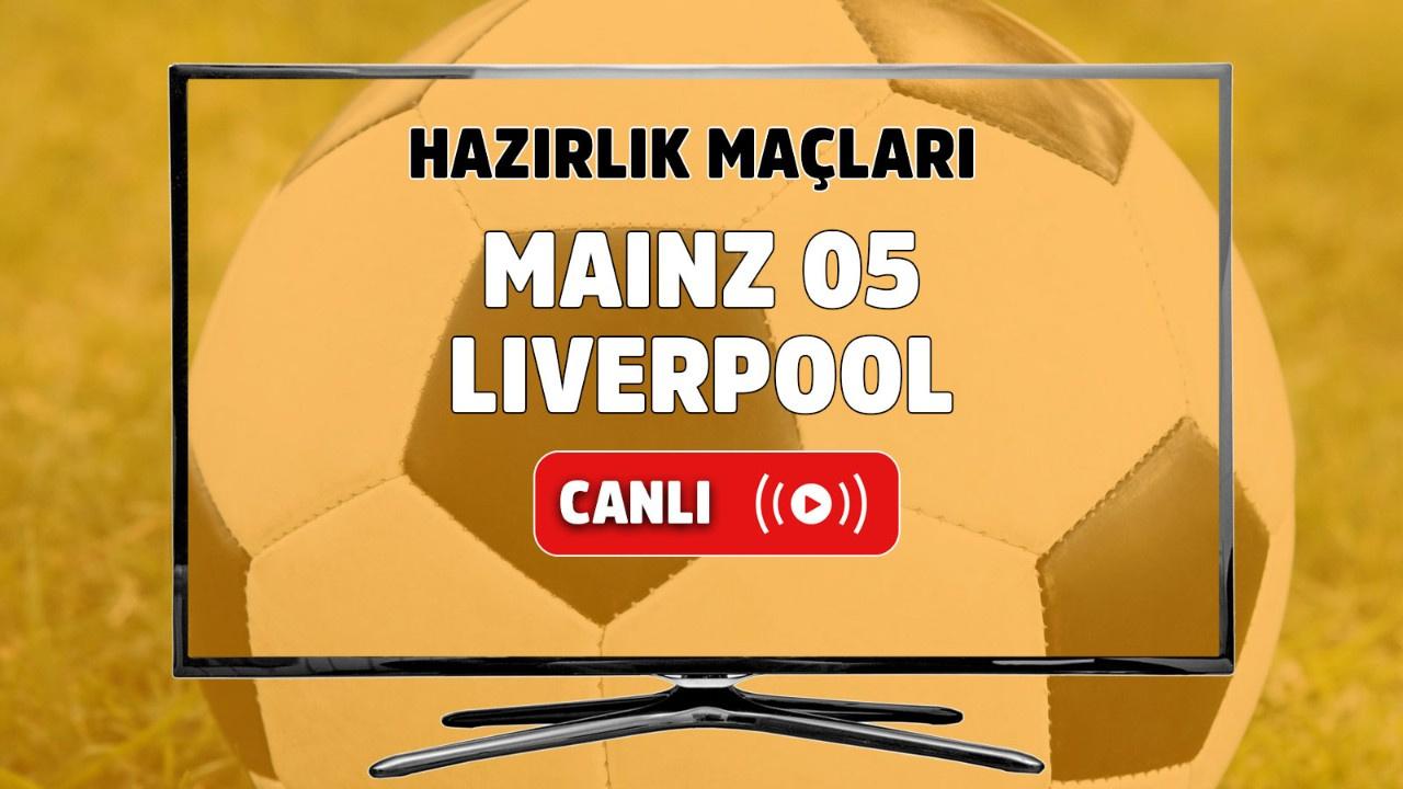Mainz 05 - Liverpool Canlı