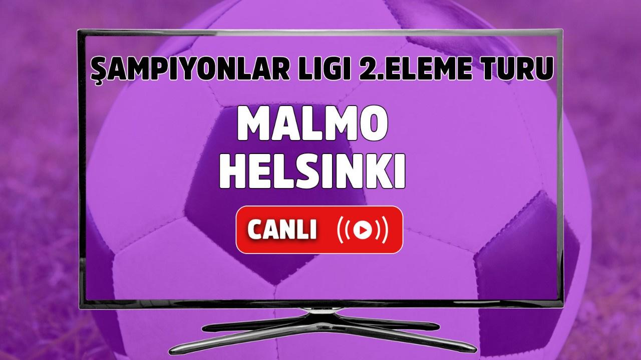 Malmö - Helsinki Canlı