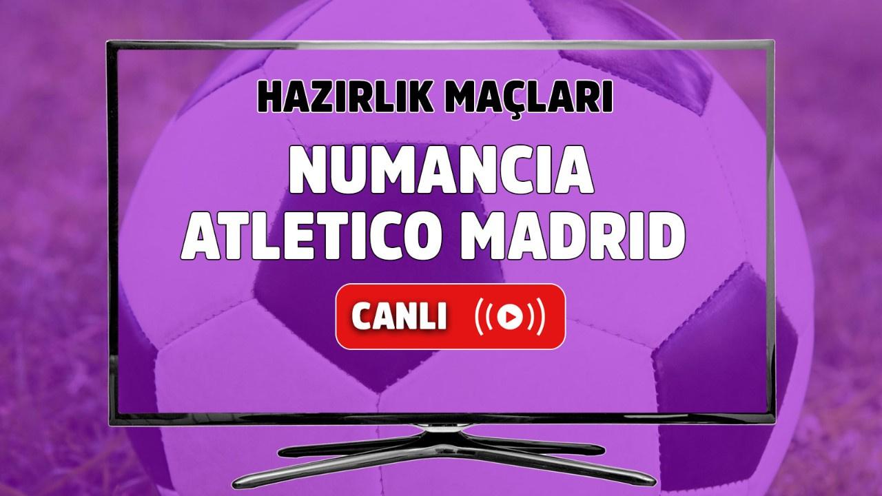 Numancia - Atletico Madrid Canlı