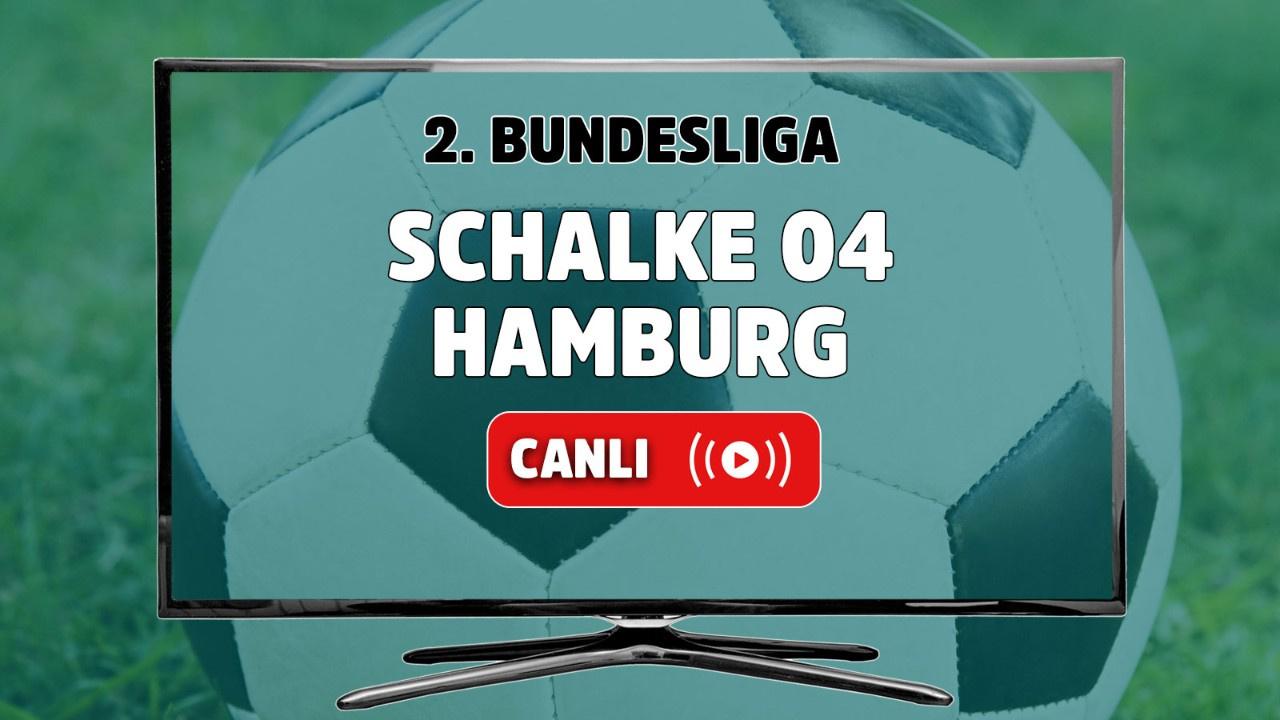 Schalke 04 - Hamburg Canlı