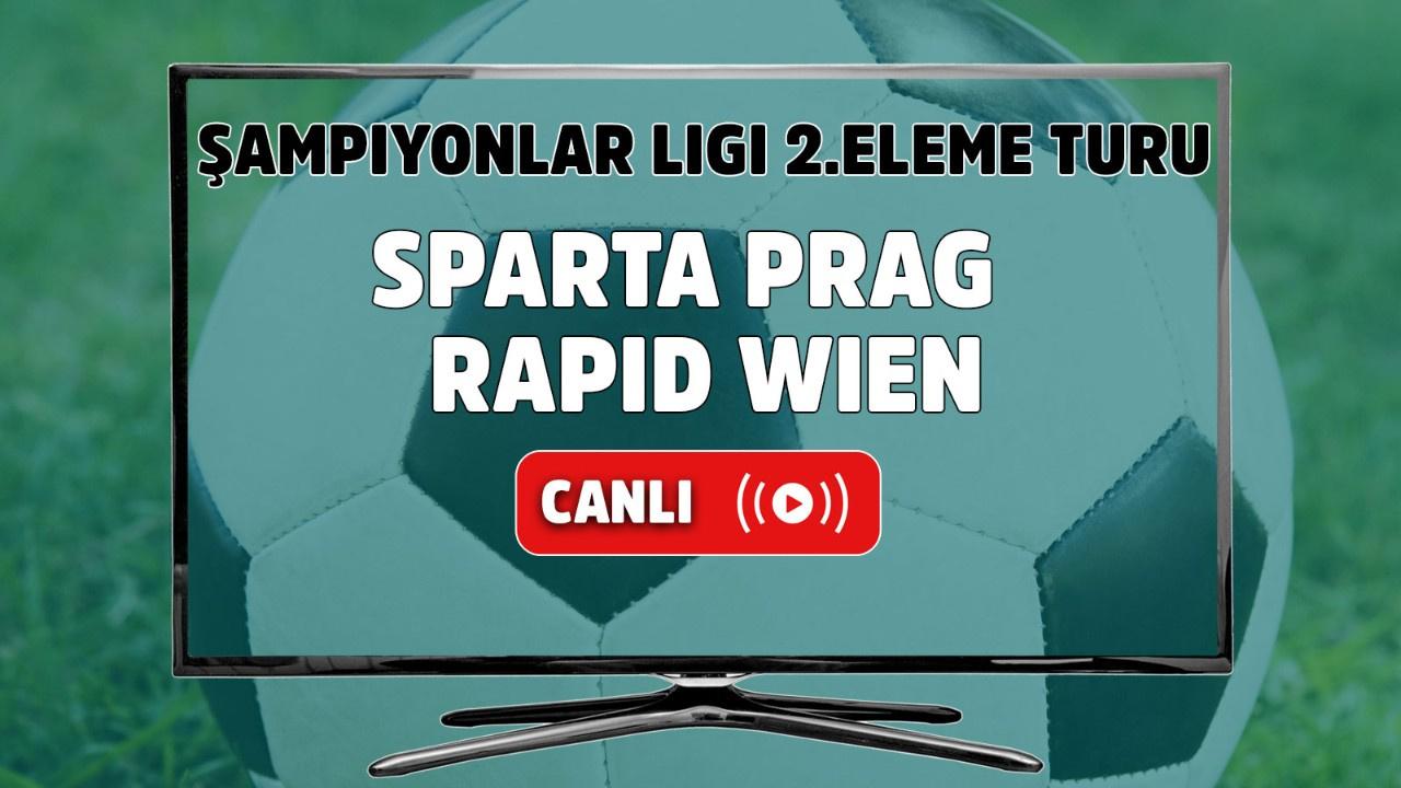 Sparta Prag - Rapid Wien Canlı