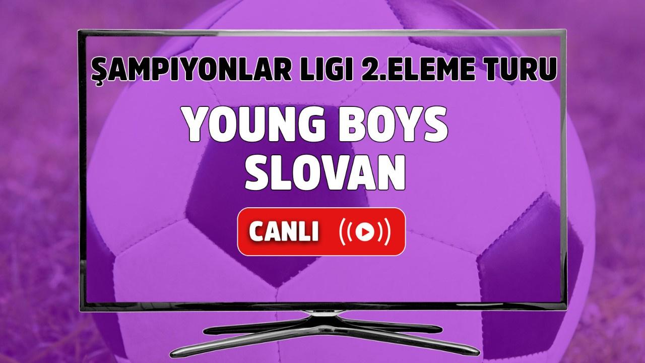 Young Boys - Slovan Canlı