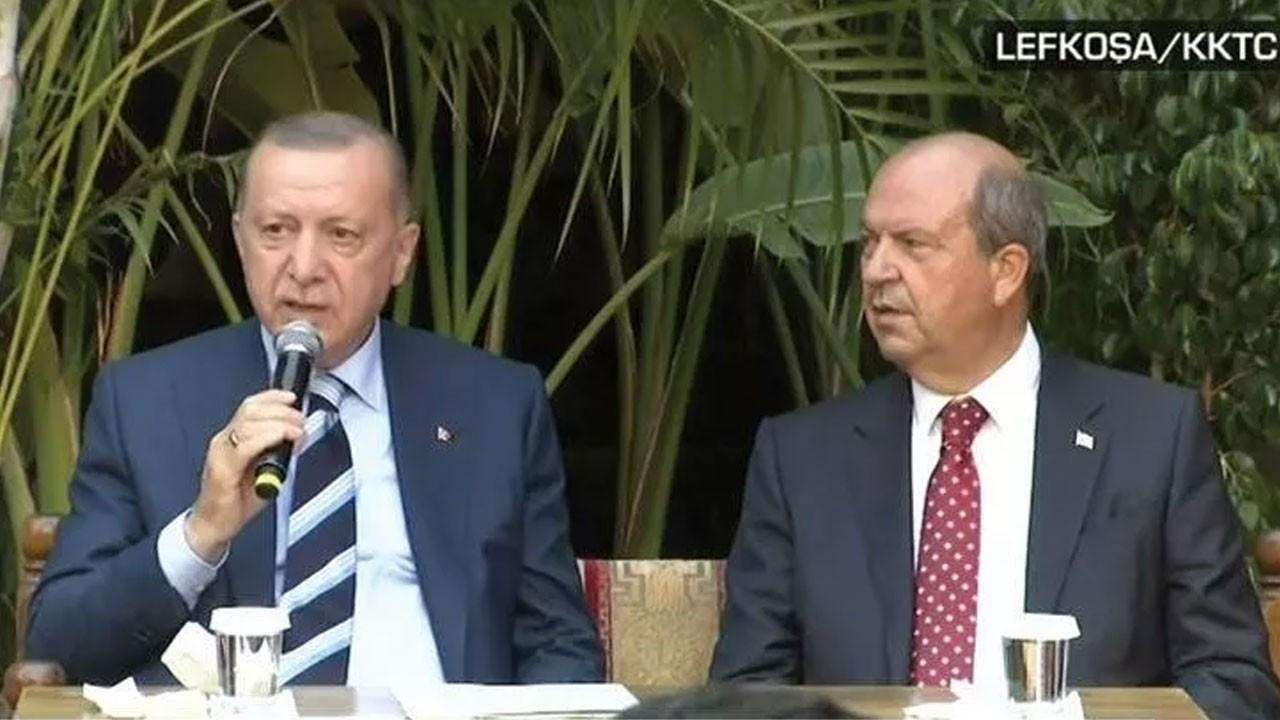 Erdoğan KKTC'de gençlerle buluştu!