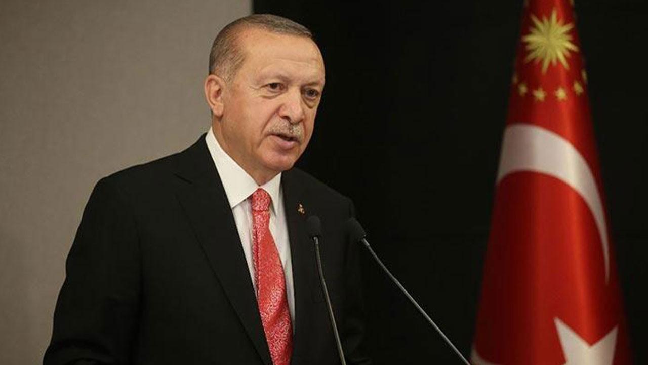 Erdoğan'dan, 'Erzurum Kongresi' mesajı