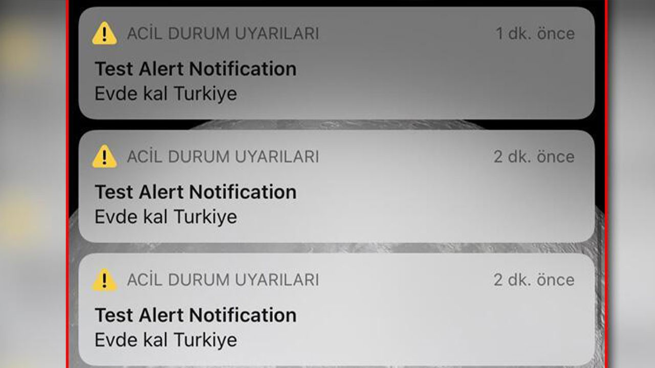 'Evde Kal Türkiye' mesajının nedeni ortaya çıktı!