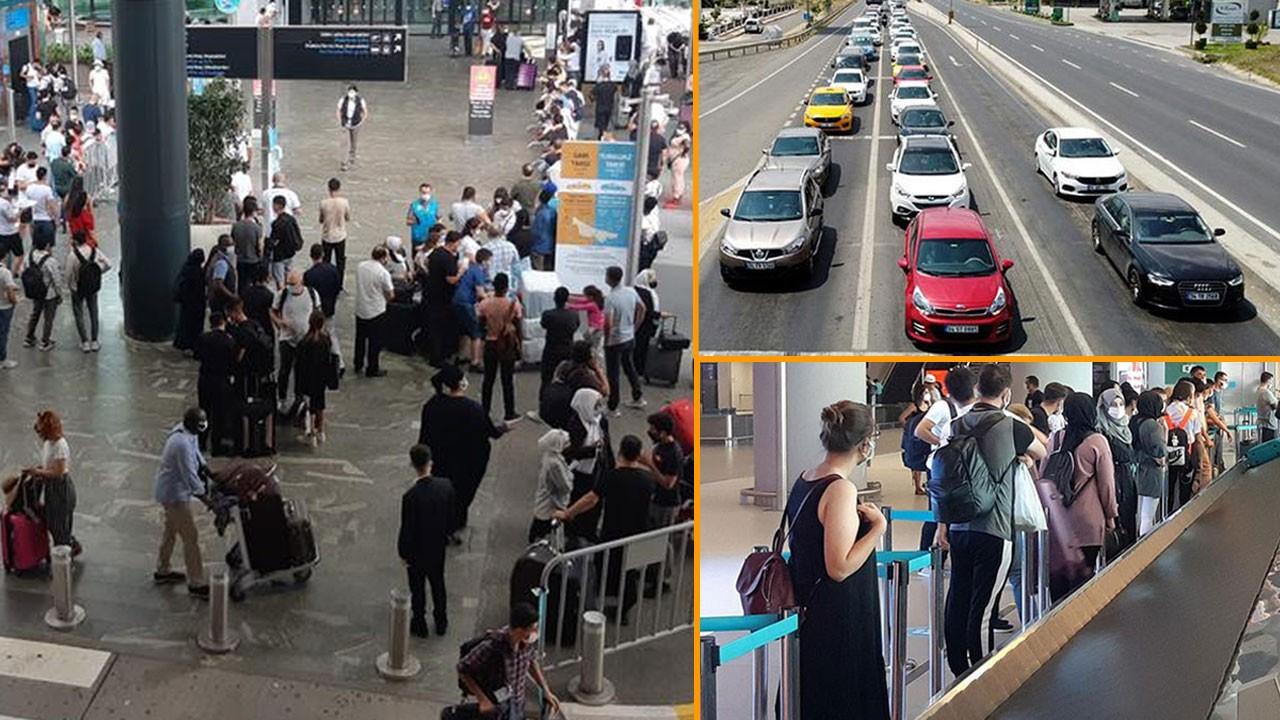 İstanbul'un havalimanlarında rekor kırıldı!