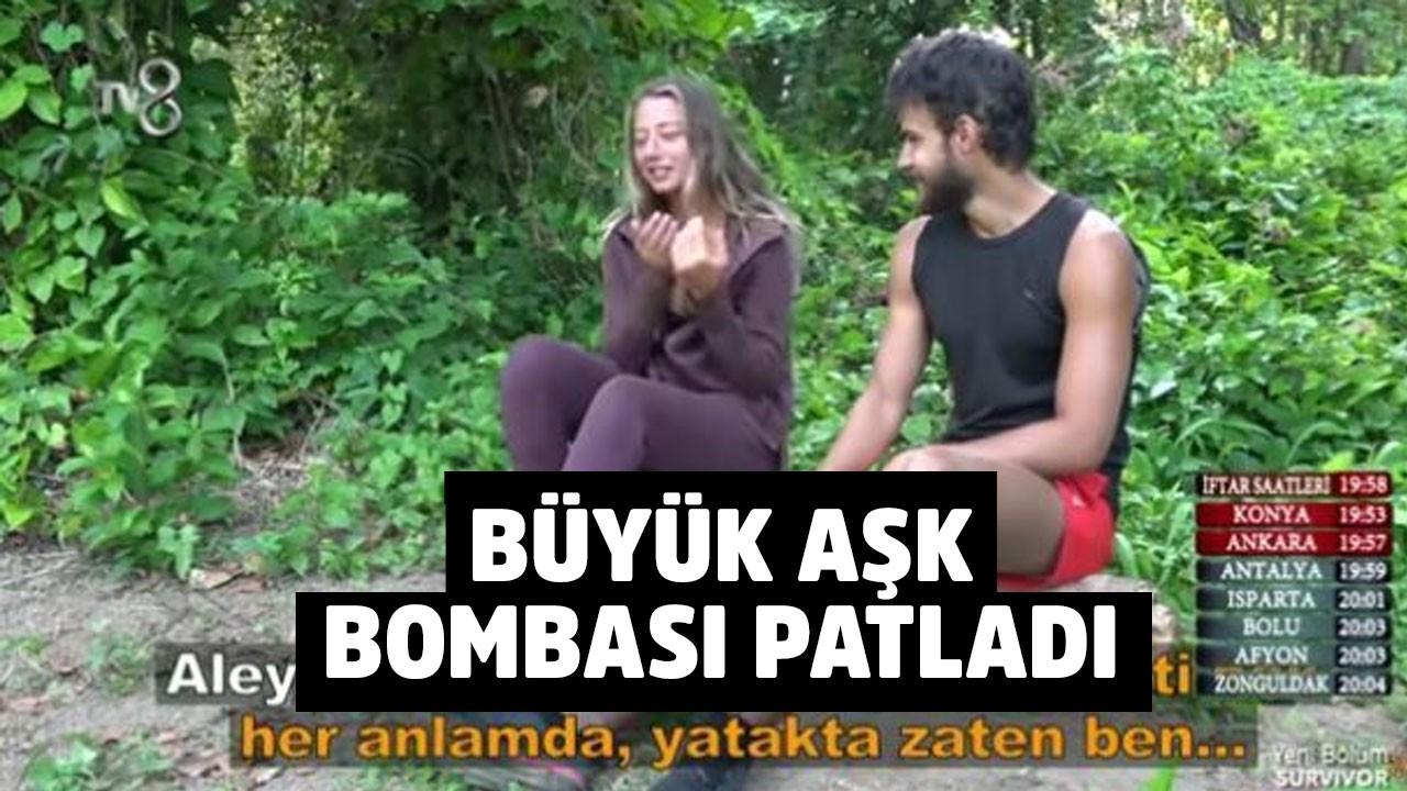 Survivor'da büyük aşk bombası patladı! Batuhan Karacakaya, Aleyna Kalaycıoğlu...