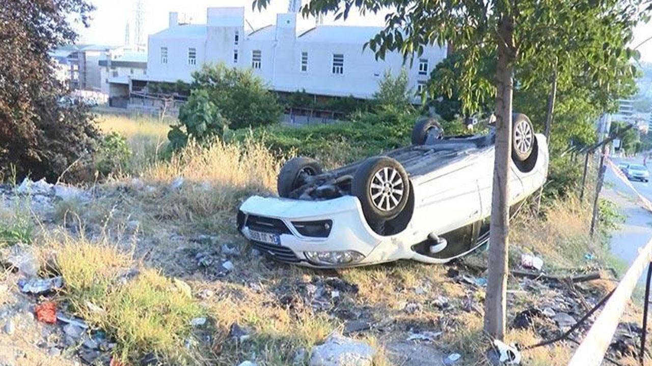 Otomobil takla attı! Sürücüsü kayıplara karıştı